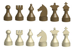 Chess - illustration Stock Images