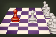 Chess 10 Royalty Free Stock Photography