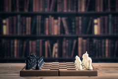 Chess image Royalty Free Stock Images