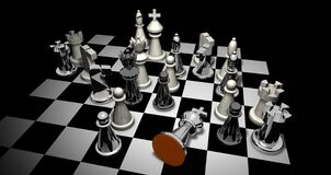 Chess, Indoor Games And Sports, Games, Board Game Royalty Free Stock Images