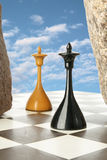 Chess island Stock Image