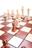 Chess isolated Stock Photography