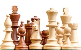Chess isolated Royalty Free Stock Photos
