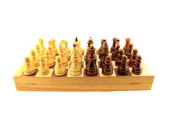The chess. Isolated object on white background. Royalty Free Stock Photography