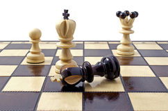 Chess, isolated over white Stock Photography