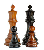 Chess isolated on white Royalty Free Stock Images