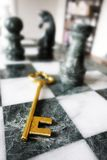 Chess key Stock Image