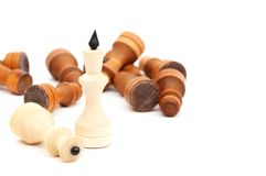 Chess King Royalty Free Stock Images