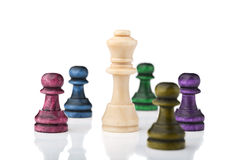 Chess king Royalty Free Stock Image