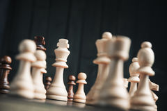Chess king Stock Photography