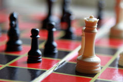 Chess King Close Up Royalty Free Stock Image