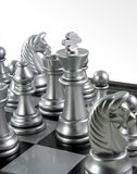 Chess King in the crowd Royalty Free Stock Images