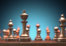 Chess King Piece Stock Image