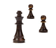 Chess king standing Royalty Free Stock Photography