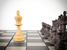 Chess King Royalty Free Stock Photo