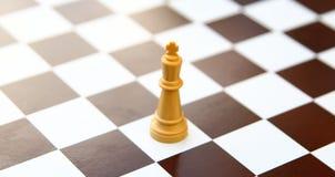 Chess king  on white Stock Photo