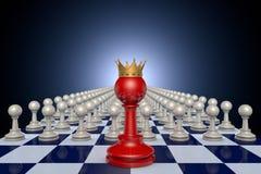 Chess Kingdom Stock Image