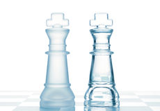 Chess kings Stock Images