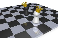 Chess kings Stock Photos