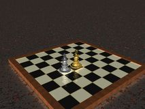 Chess kings Royalty Free Stock Photo