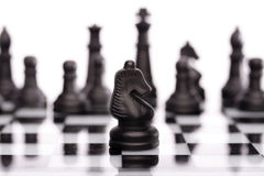 Chess-Knight Royalty Free Stock Photography