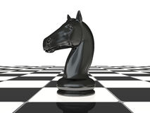 Chess knight Stock Image