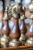 A chess knight Royalty Free Stock Image