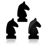 Chess knight Royalty Free Stock Image