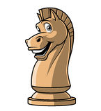 Chess Knight  mascot. Illustration on white background of  Chess Knight  mascot Stock Images