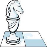 The chess knight Stock Photos