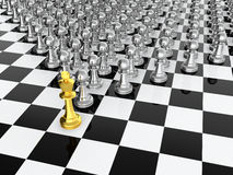 Chess leader Stock Photography