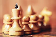 Chess leader Royalty Free Stock Photo