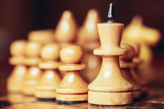 Chess leader Royalty Free Stock Images