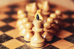 Chess leader Royalty Free Stock Photography