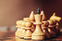 Chess leader Stock Images