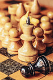 Chess leader Royalty Free Stock Image