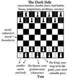 Chess life Royalty Free Stock Photos