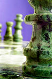 Chess macro Royalty Free Stock Photos
