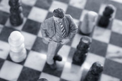 Chess man Royalty Free Stock Photo