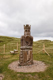 Chess man,the King, Isle of Lewis Stock Images