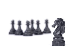 Chess maneuver concept Stock Photography