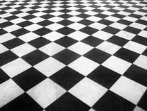 Chess marble floor Royalty Free Stock Photography