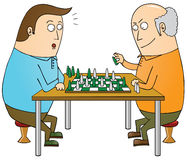 Chess master Royalty Free Stock Photos