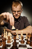 Chess master Royalty Free Stock Photo