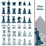 Chess master Stock Images