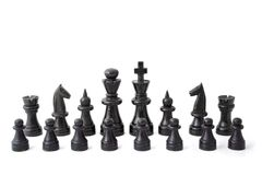 Chess Match Royalty Free Stock Images