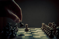 Chess match Stock Photography