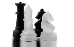 Chess Men Royalty Free Stock Photos