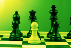 Chess-men Images libres de droits