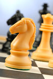 Chess-men Photo libre de droits